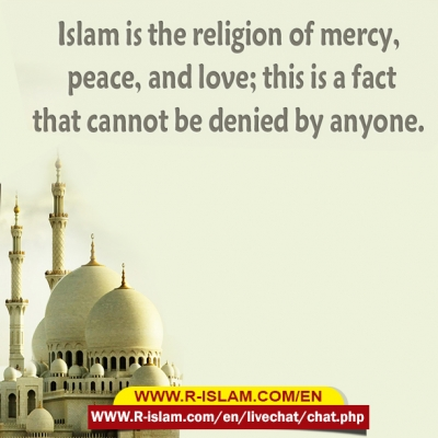 mercy peace and love in islam
