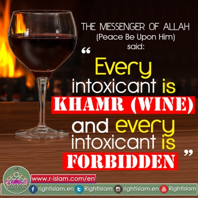 Every intoxicant is khamr