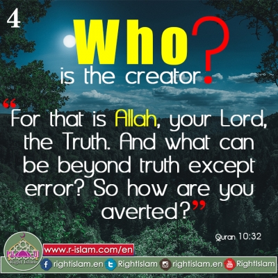 Who is the Creator? (4)