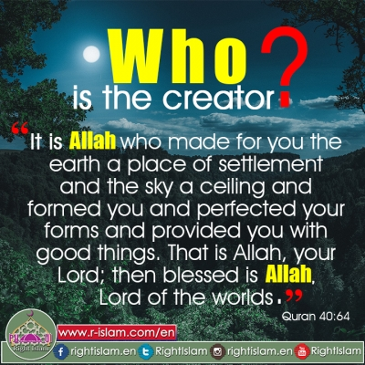 Who is the Creator? (1)