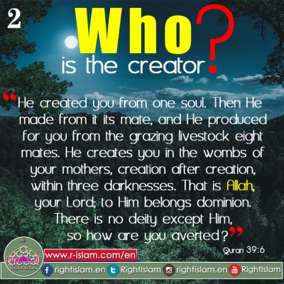 Who is the Creator? (2)